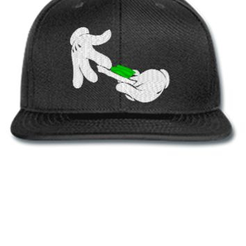 dope mariana embroidery - Snapback Hat