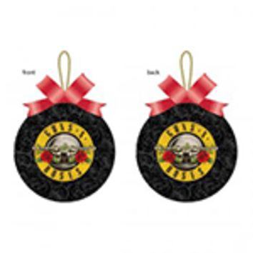Guns and Roses Ornament