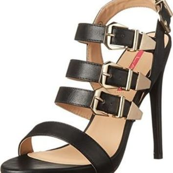 C Label Black Heels