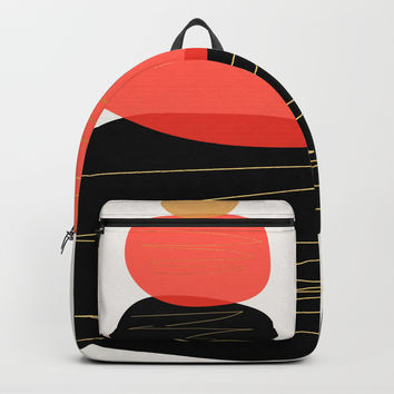 Modern minimal forms 2 Backpack by naturalcolors