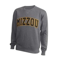 Mizzou Charcoal Crew Neck Sweatshirt
