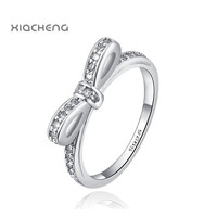 Ningbo Pandora European Style Sterling Silver 925 Ring Butterfly Rings High Quality For Women with Full Crystal Jewelry