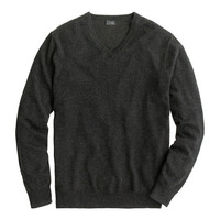J.Crew Mens Italian Cashmere V-Neck Sweater