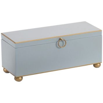 Rectangle Pastel Blue Box