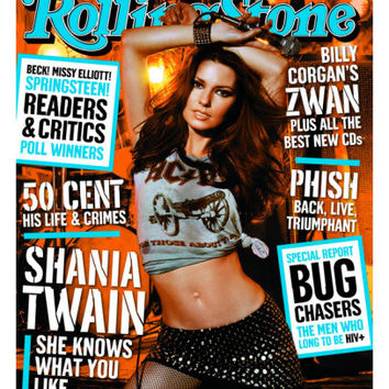 Shania Twain, Rolling Stone no. 915, February 2003 Photographic Print by Michael Thompson at AllPosters.com