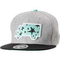 Trukfit Modern Classic Heather Grey Strapback Hat at Zumiez : PDP