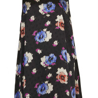 Spot Floral Trapeze Dress - New In This Week  - New In