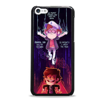 Gravity Falls with quote cartoon Iphone 5c Case