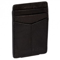 Fossil Mens Ingram Genuine Leather Magnetic Multi Card Money Clip Wallet