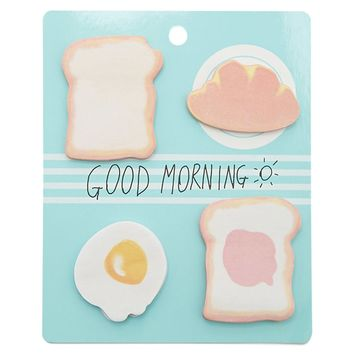 Breakfast Sticky Note Set
