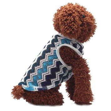 VONFC9 2015 Good Quality Breathable Net Fabric Dog Clothing Vest T-shirt Poodle Vest Pets summer clothes  t-shirts for dogs clothing