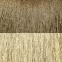 "20"" Balayage Clip In Hair Extensions Deluxe Set - #6/60 Blonde Brunette Bombshell"