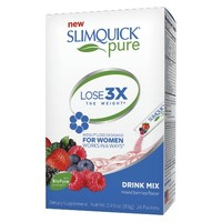 SlimQuick Pure Berry Drink Mix - 26 Count