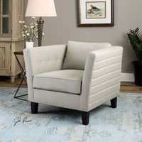 Uttermost Izaak Modern Armchair