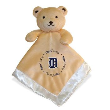 Bear Baby Blanket MLB Tigers by Baby Fanatic