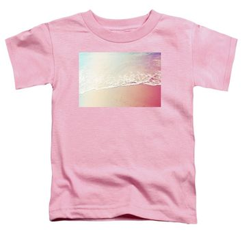 Ocean Air, Salty Hair, Watercolor Art By Adam Asar - Asar Studios - Toddler T-Shirt