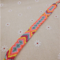 Friendship Bracelet Handmade Charm Woven Rope String Hippy Boho