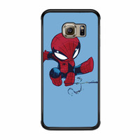 Keep Calm And Swing Spiderman Samsung Galaxy S6 Edge Case