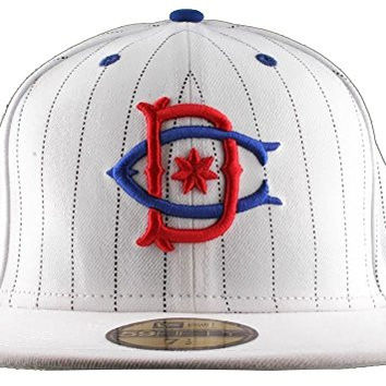 DC Throwback Hat M Hats Wht, White, 7 1/4