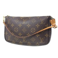 Tagre™ LOUIS VUITTON Pochette Accessories Monogram Pouch Bag M51980 Authentic #F257 W