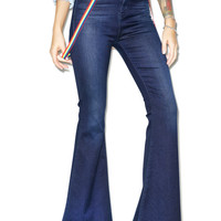 Pylo Gypsy High Rise Bell Bottoms Denim