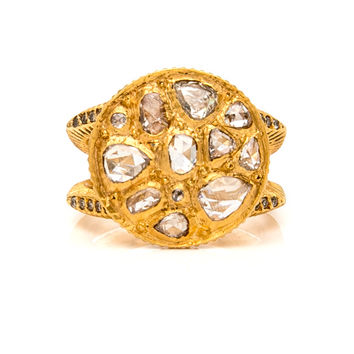 Sara Round Mosaic Diamond Ring