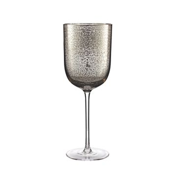 Crackle Goblet in Platinum S/4