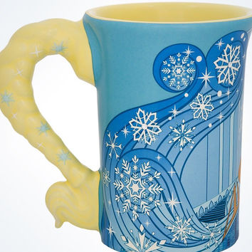 Disney Parks Frozen Elsa Relief Dress Ceramic Coffee Mug New