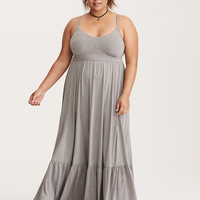 Tiered Jersey Maxi Dress (Short Inseam Now Available)