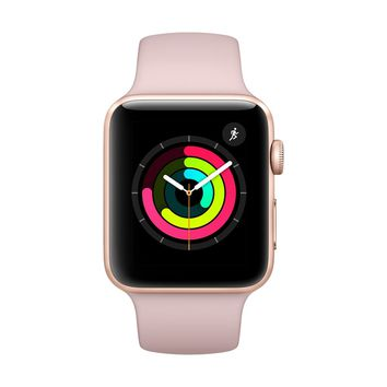 Apple Watch Series 3 GPS with Pink Sand Sport Band -