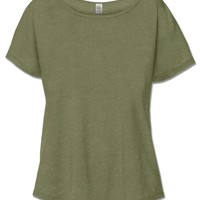 NEW! Basic Short Sleeve Slouch Top