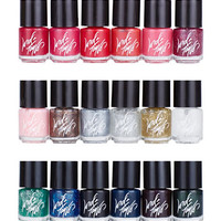 Lord & Taylor 18-Piece Mini Nail Polish Set