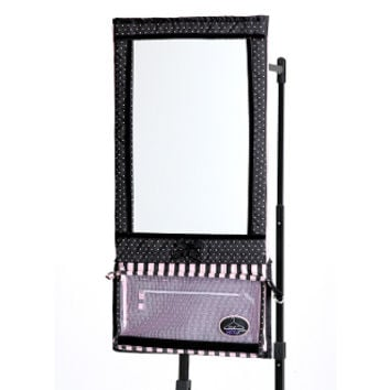 Rac n 39 roll hanging mirror dance extras from dance extras for Dance mirrors