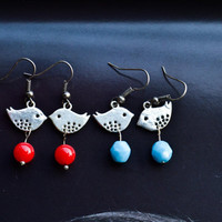Sweet Bird Earrings Christmas Earring Cute Earrings