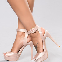 Queen Me Heel - Blush