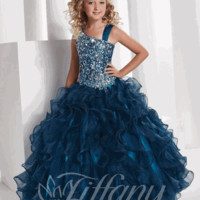 Girls Pageant Dress 13332 - Sizes 8 or 10 Rosepink