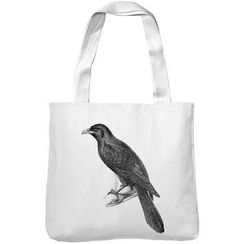 Mintage Angry Crow Museum Tote Bag