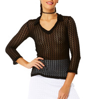 Chill Factor Knit Mini Skirt - White