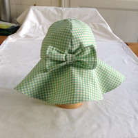 Infant Sun Hat Baby/Toddler Floppy Sun Hat Cotton Three Sizes 2 Colours