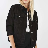 MOTO Oversized Clean Jacket - Jackets & Coats - Clothing