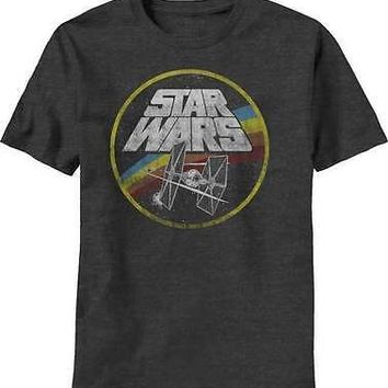 Star Wars Circle Fight Movie Adult T Shirt