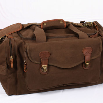 Canvas Long Weekend Bag