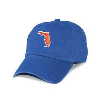 Florida Gainesville Gameday Hat in Blue by State Traditions