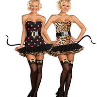 When The Cats Away Costume | Sexy Clothes Womens Sexy Dresses Sexy Clubwear Sexy Swimwear | Flirt Catalog