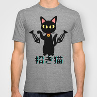 Maneki Neko T-shirt by BATKEI | Society6