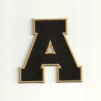 Varsity Letter Patch, any color combo, Medium Custom Made!