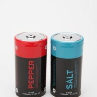 Battery Salt & Pepper Shakers