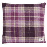 Mulholland Berry Check Cushion