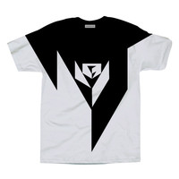 Black Geometry Tee Shirt