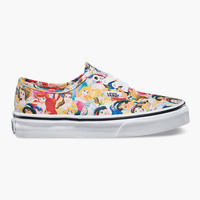Vans Disney Multi Princess Authentic Girls Shoes Multi  In Sizes